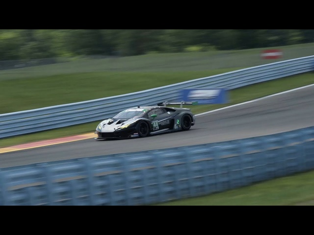 Watch Mike Spinelli Try To Talk A Lamborghini Racing Driver Through A Lap