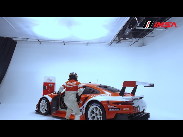 Porsche/Coca-Cola Livery Reveal for IMSA Motul Petit Le Mans at Michelin Raceway Road Atlanta