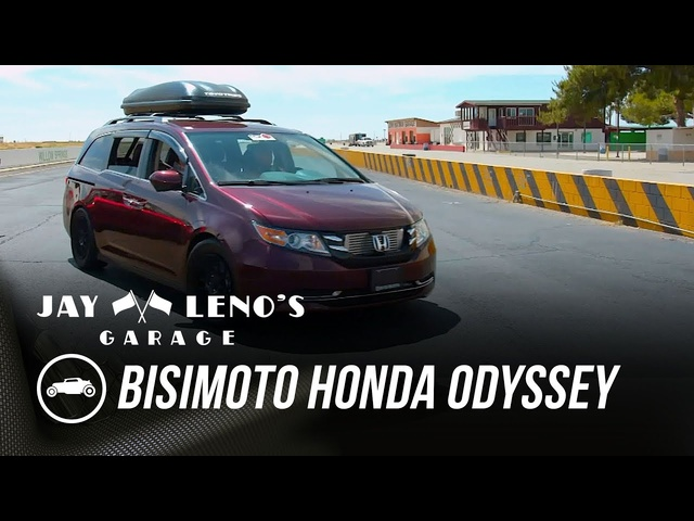 Jay Ri<em>de</em>s In Souped-Up Minivan - Jay Leno's Garage