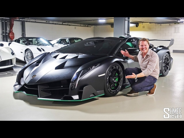 My First Drive in the VENENO ROADSTER - Batman's Lamborghini!