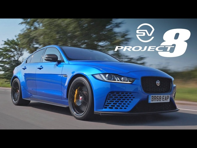 <em>Jaguar</em> XE SV Project 8 Touring: Road Review | Carfection 4K