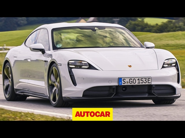 2020 Porsche Taycan review | new electric Porsche driven | Autocar