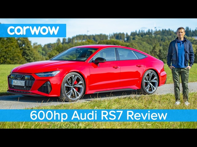<em>Audi</em> RS7 2020 review – tested 0-60mph and on the Autobahn!