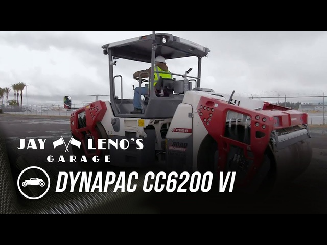 Jay Rolls Through On A Dynapac CC6200 VI - Jay Leno's Garage