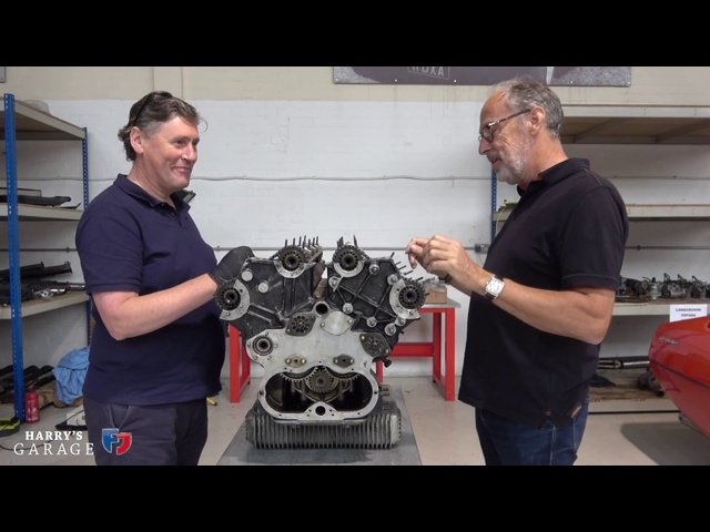 Lamborghini V12 engine rebuild. Part 2, stripping the engine