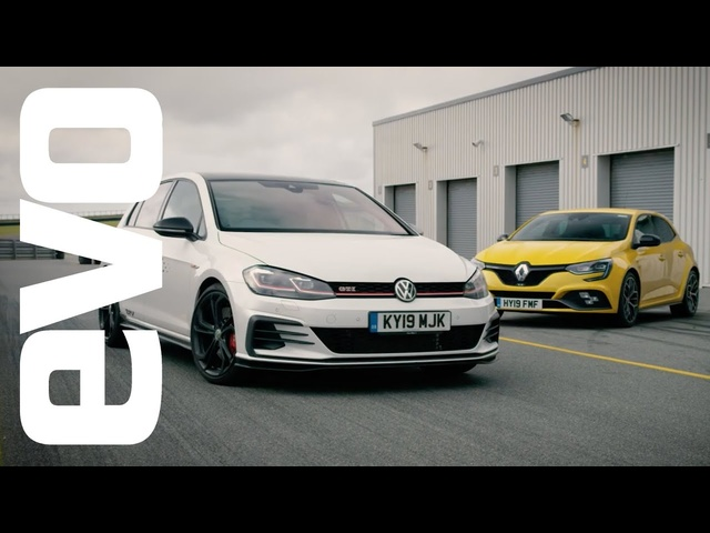 <em>Volkswagen</em> Golf GTI TCR vs Renault Megane RS Trophy | evo DEADLY RIVALS