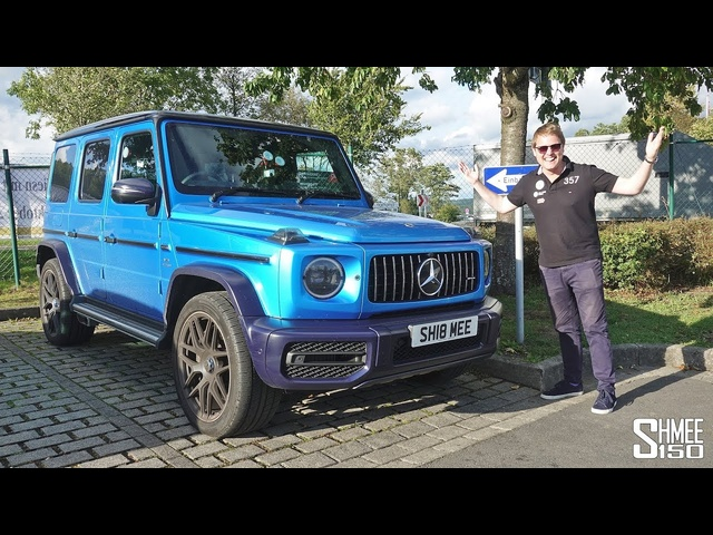 I've Created aMONSTER! My AMG G63 on the Nurburgring