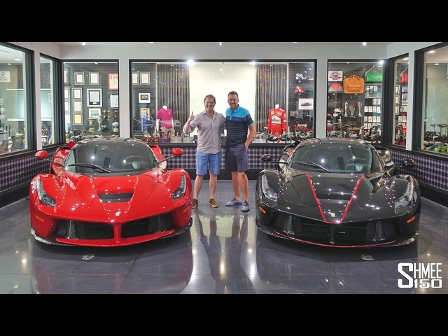 The Incredible <em>Ferrari</em> Collection of Pro Golfer Ian Poulter!