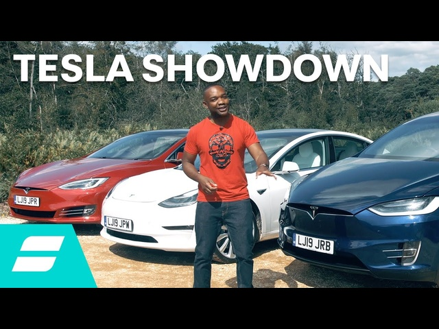 Tesla Showdown: Model 3 vs Model S vs Model X