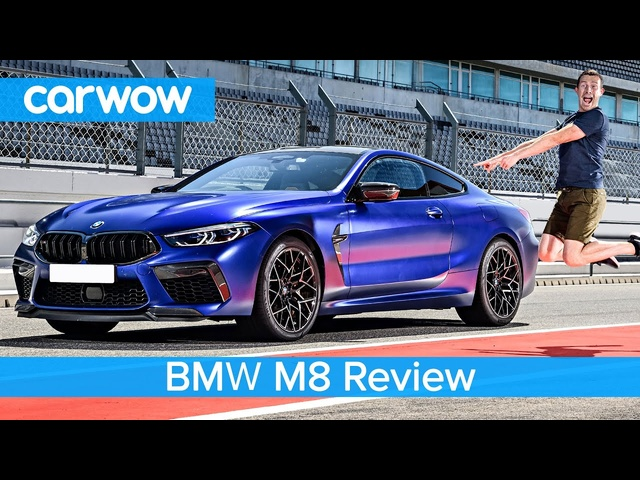 BMW M8 2020 ultimate review - see how quick it is to 60mph... and how I nearly crash it!?!