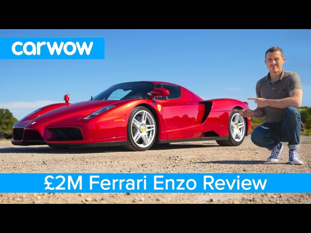 <em>Ferrari</em> Enzo review - see why it's worth £2M and is my favourite car EVER!