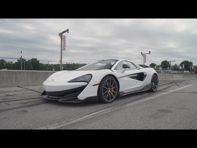 McLaren 600LT at Lightning Lap 2019