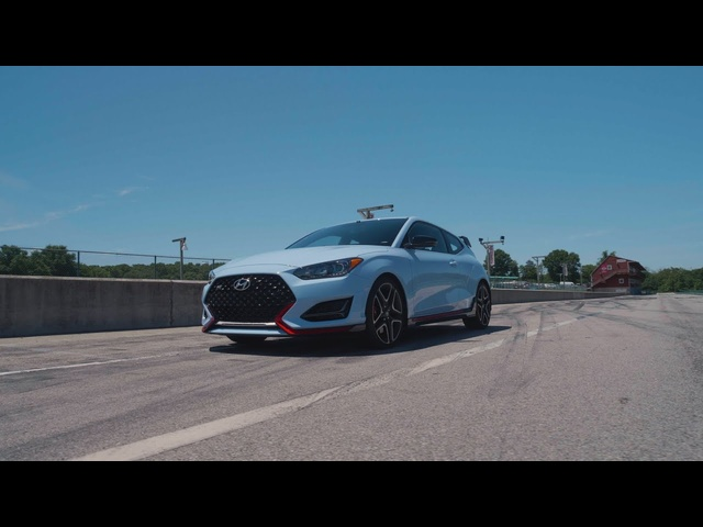 Hyundai Veloster N at Lightning Lap 2019