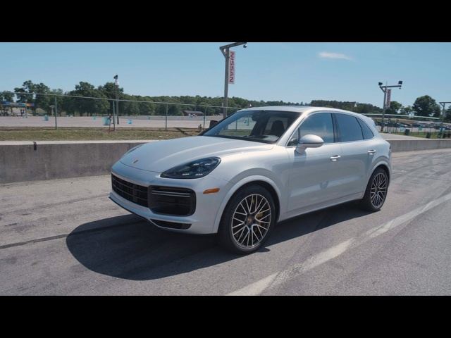 Porsche Cayenne Turbo at Lightning Lap 2019
