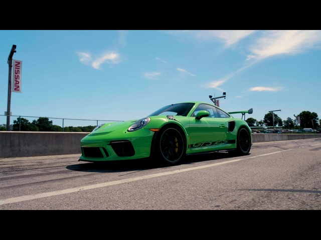 Porsche 911 GT3 RS at Lightning Lap 2019
