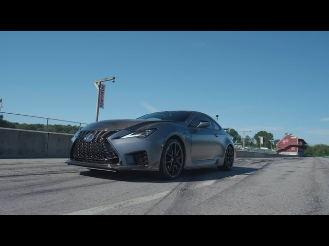 Lexus RC F Track Edition at Lightning Lap 2019