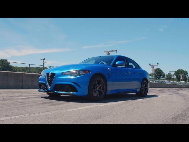 Alfa Romeo Giulia Quadrifoglio at Lightning Lap 2019