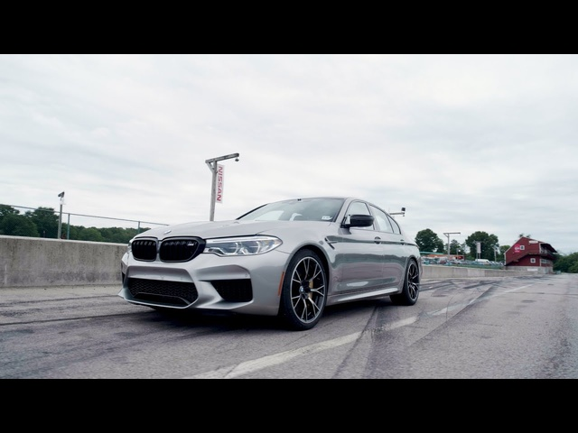 BMW M5 Competition at Lightning Lap 2019
