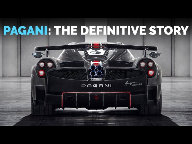 <em>Pagani</em>: The Definitive Story Of Zonda, Huayra and Horacio <em>Pagani</em> | Carfection 4K