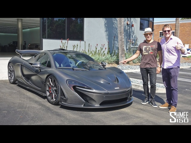 Manny Khoshbin's STEALTHY BATMOBILE McLaren P1!