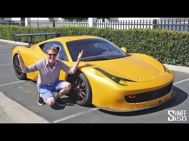 Hooning a<em>Ferrari</em> RACE CAR on PUBLIC ROADS!