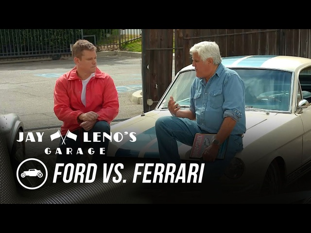 "Full Opening: Matt Damon Talks ""Ford vs. <em>Ferrari</em>"" With Jay - Jay Leno's Garage"