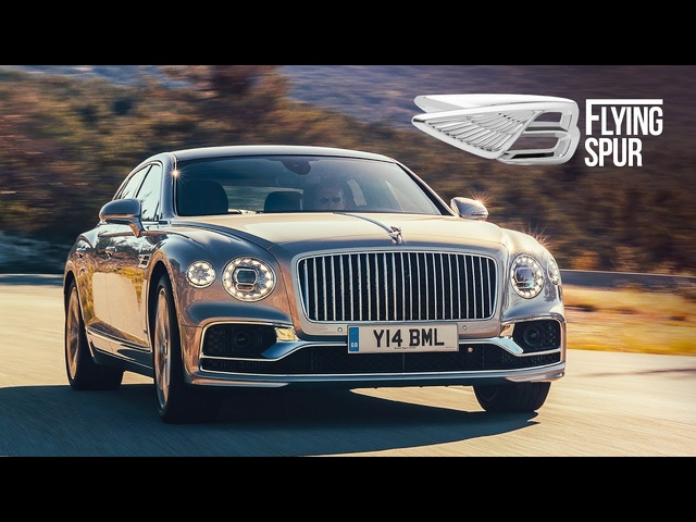 NEW <em>Bentley</em> Flying Spur: Road Review | Carfection 4K