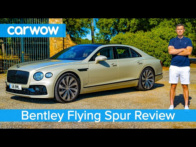 <em>Bentley</em> Flying Spur 2020 in-depth REVIEW - see why it's the best luxury car ever!