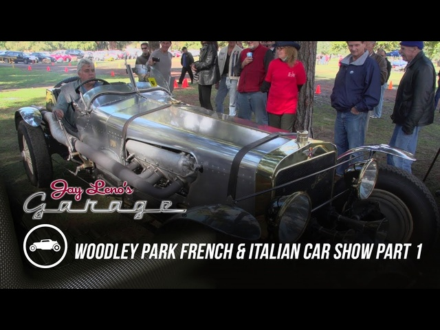Woodley Park French and Italian Car Show, Part 1 - Jay Leno's Garage