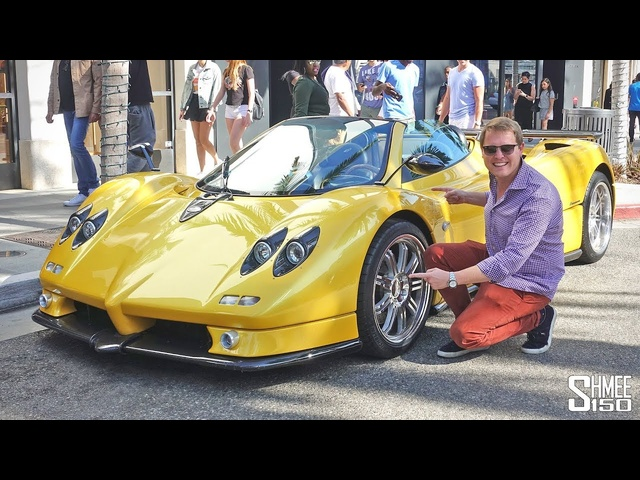 My Friend Whitesse BOUGHT a Pagani Zonda!