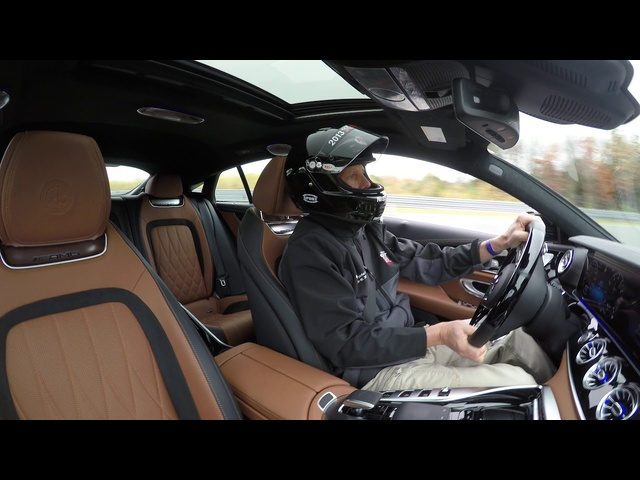 Mercedes-AMG GT 63 S 4-Door | Hot Lap | Steve Hammes