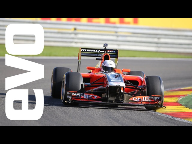 F1 dream drive at Spa | evo Motorsport Icons
