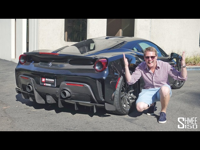 THIS <em>Ferrari</em> 488 Pista has a CRAZY Boden Autohaus Exhaust!