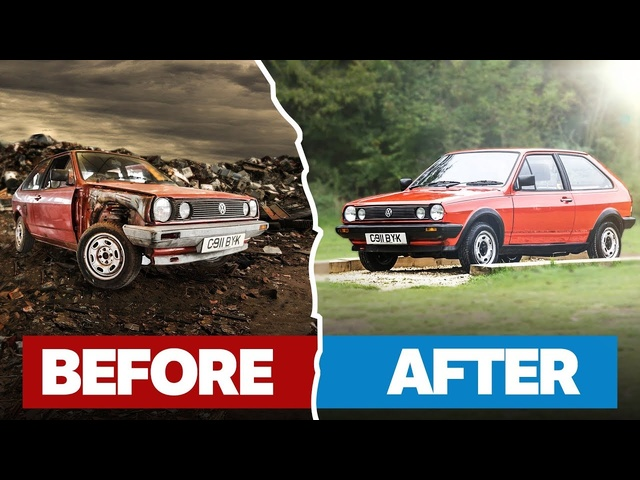 Saving A Rusty Project Car From The Scrap Yard