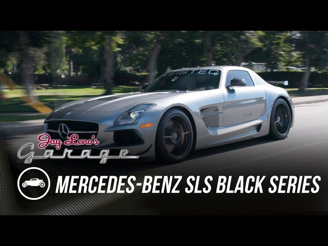 Graham Rahal's Weistec Tuned Mercedes-Benz SLS Black Series - Jay Leno's Garage