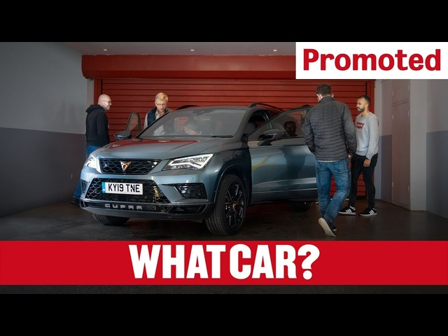 Promoted | Hands-on with the CUPRA Ateca | What Car?