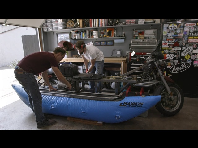 The Boatorcycle! Building an Amphibious Bike—Throttle Out Preview Ep. 12