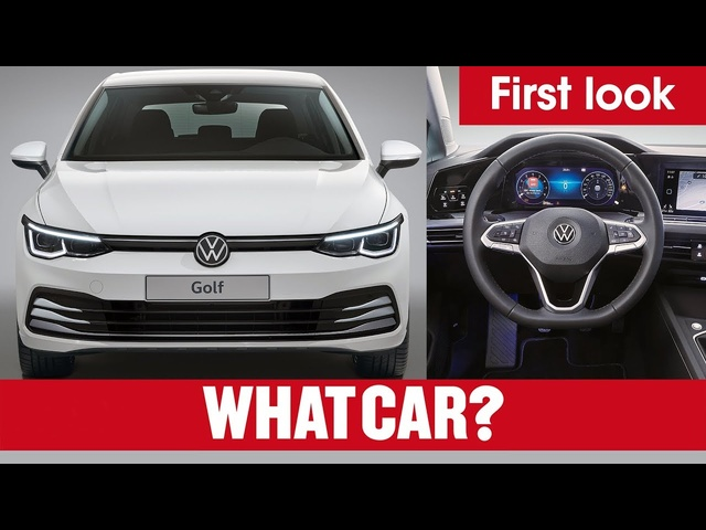 NEW 2020 VW Golf revealed – and the cars it has to beat! | What Car?