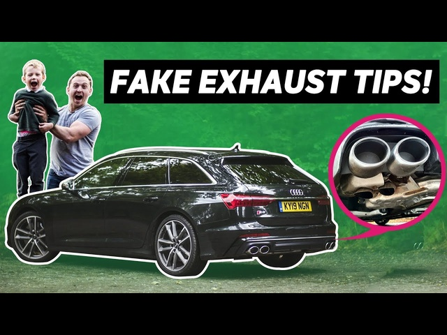 4-Year-Old Reviews The <em>Audi</em> S6 (Yes, The One With The Fake Exhaust Tips)