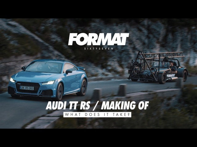 AUDI TT RS 'Making of' by FORMAT67.NET
