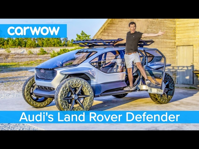 Audi's Land Rover Defender for 2030 – is this REALLY the future of SUVs?