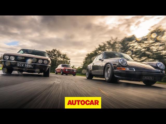 Restomods | Alfaholics GTA-R 290, JIA Jensen Interceptor R, TuthillPorsche 911 | Autocar