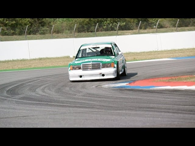 Chris Harris Drives DREAM CAR Mercedes 190E DTM - 11/3 AT 9:00 PM ET ON NBC SPORTS