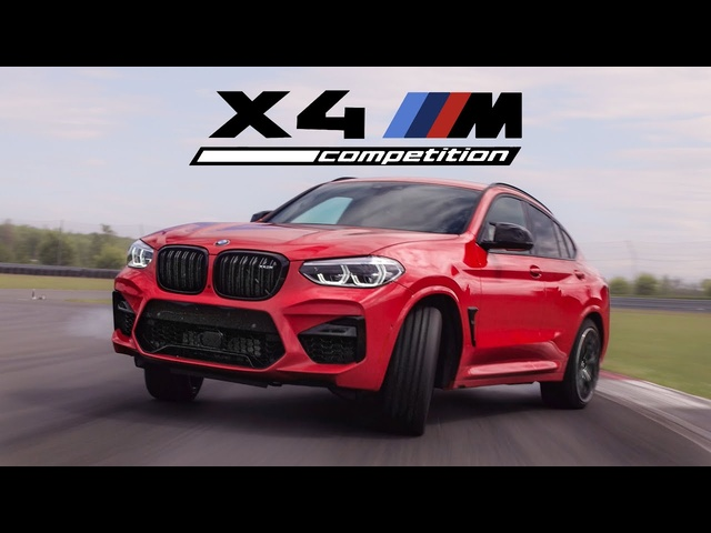 2020 BMW X4M Competition Review - Track Monster