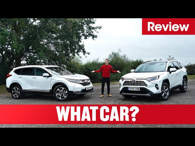 2021 Toyota RAV4 vs <em>Honda</em> CR-V – hybrid SUV showdown | What Car?