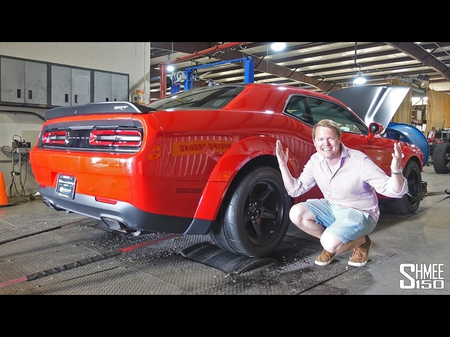 THIS 1,400bhp Hennessey DEMON is Angry on the Dyno!