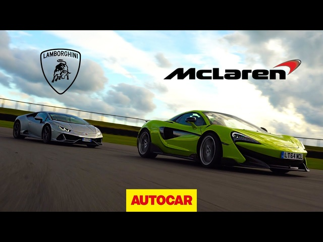 Lamborghini Huracan Evo v <em>McLaren</em> 600LT | Track Review | Autocar