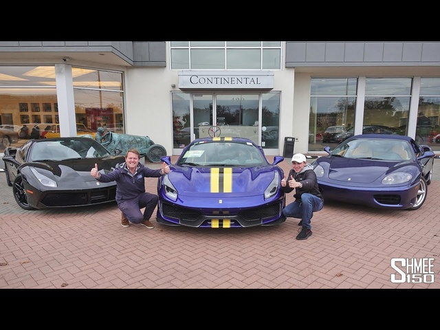 TRIPLE <em>Ferrari</em> Collection Day! Buying 3 New Cars at One Time