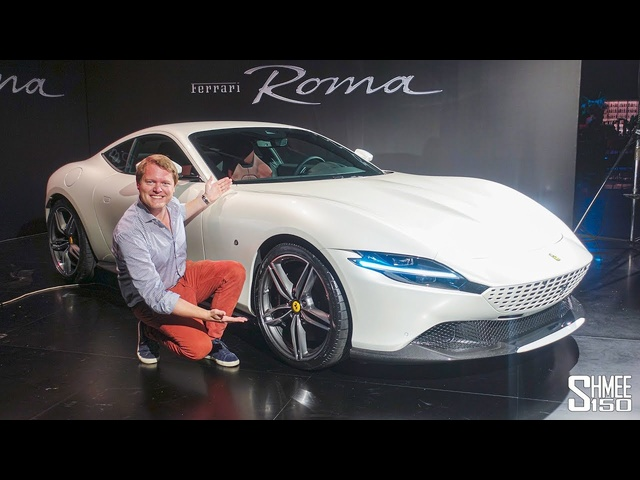 Check Out the NEW FERRARI ROMA! | FIRST LOOK