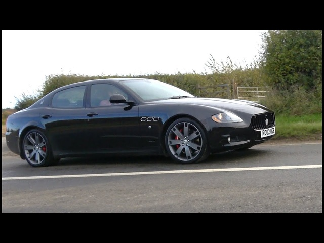 Maserati Quattroporte 4.7 V8 Sport GTS review. Best sounding 4-door ever?